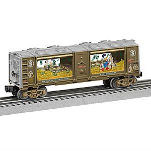 Scrooge McDuck Mint Train Car by Lionel 6805058572425P