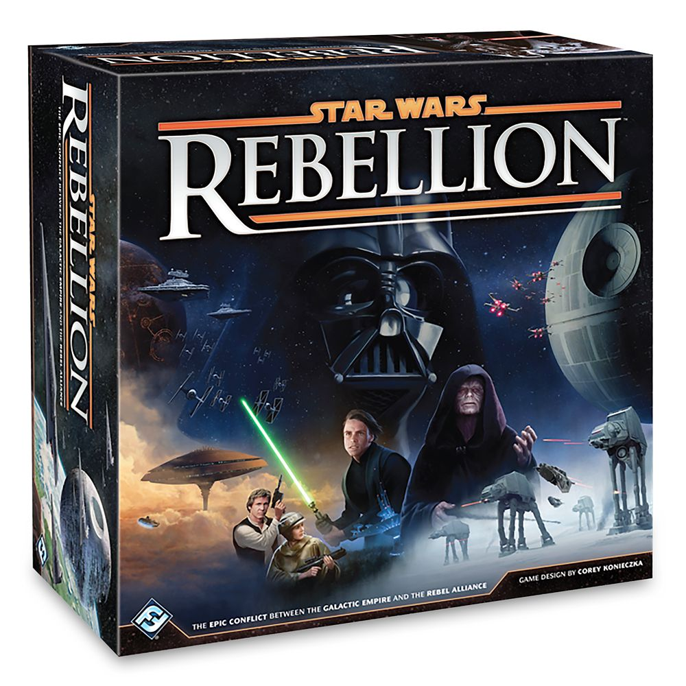 Best Star Wars Gift Ideas featured by top US Disney blogger, Marcie and the Mouse: Star Wars: Rebellion Board Game Official shopDisney