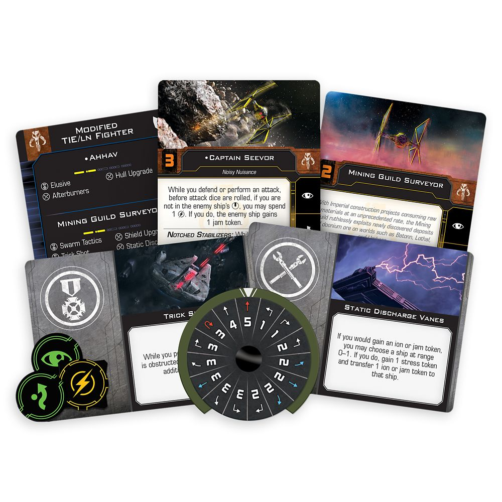 Stars Wars X-Wing 2nd Edition: Mining Guild TIE Expansion Pack