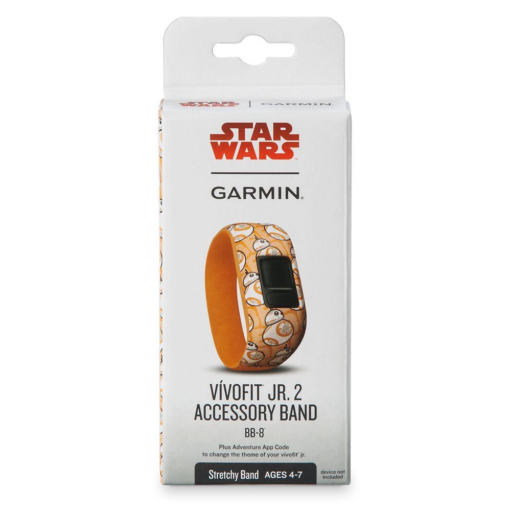 BB-8 vivofit jr. 2 Accessory Stretchy Band by Garmin – Star Wars