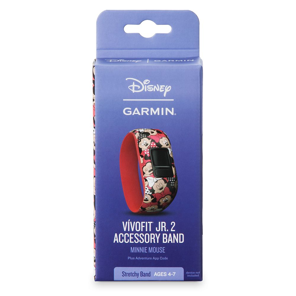 Minnie Mouse vívofit jr. 2 Accessory Stretchy Band by Garmin