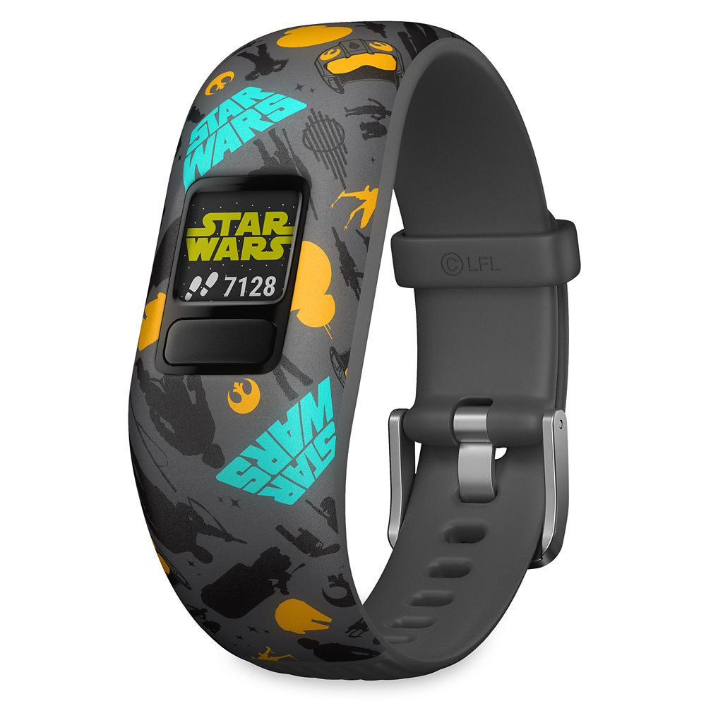 Best Star Wars Gift Ideas featured by top US Disney blogger, Marcie and the Mouse: Star Wars: The Resistance vvofit jr. 2 Activity Tracker for Kids by Garmin Official shopDisney