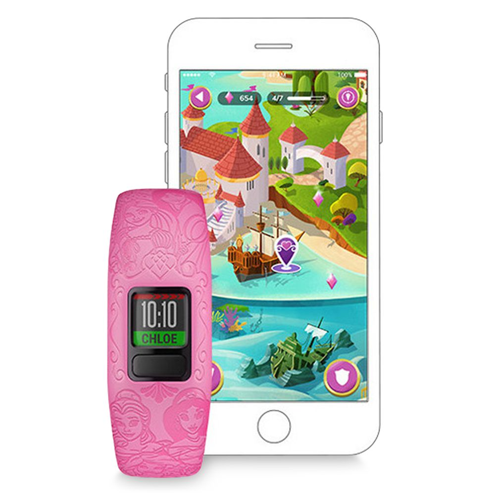 Disney Princess vívofit jr. 2 Fitness Tracker for Kids by Garmin