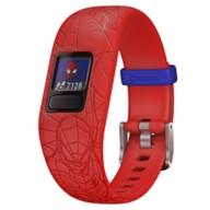 Spider-Man Garmin vívofit jr. 2 Activity Tracker for Kids with Adjustable Band – Red