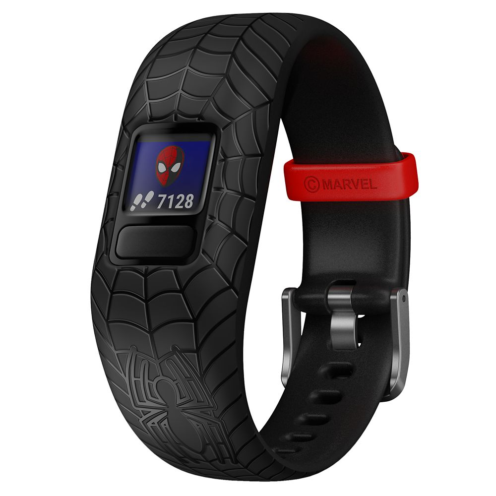 Spider-Man Garmin vívofit jr. 2 Activity Tracker for Kids with Adjustable Band – Black