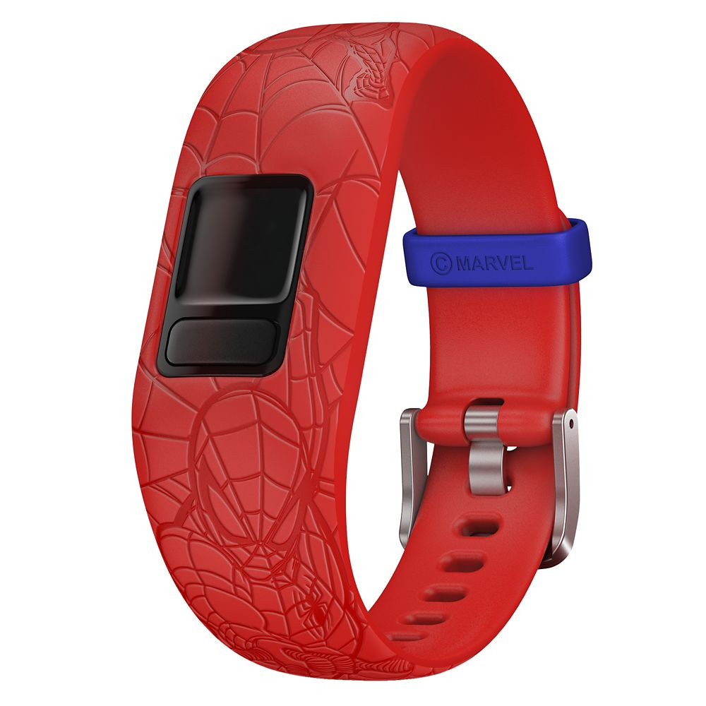 Spider-Man Garmin vívofit jr. 2 Accessory Adjustable Band – Red