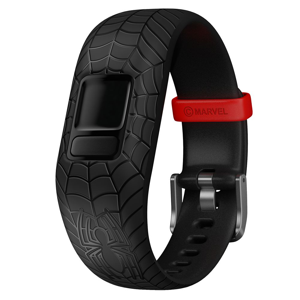 Spider-Man Garmin vívofit jr. 2 Accessory Adjustable Band – Black