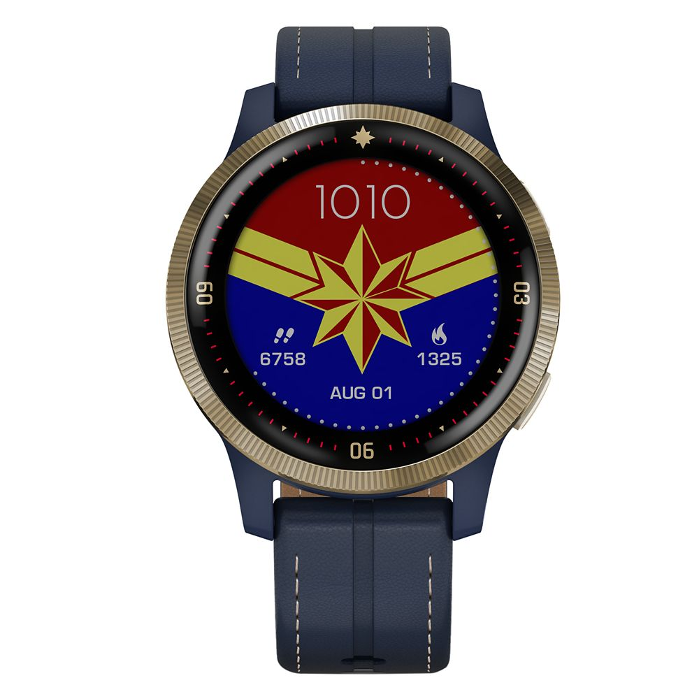 Captain Marvel Smartwatch by Garmin – Special Edition