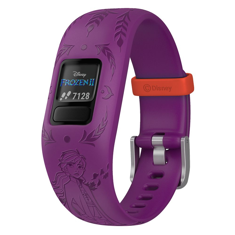 가민 비보핏 쥬니어2 - 겨울왕국2 안나 Anna vivofit jr. 2 Activity Tracker for Kids by Garmin – Frozen 2