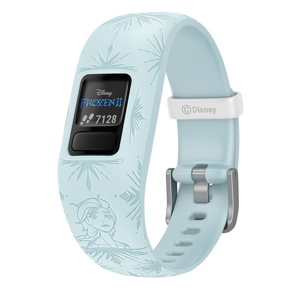 가민 비보핏 쥬니어2 - 겨울왕국2 엘사 Elsa vivofit jr 2 Activity Tracker for Kids by Garmin – Frozen 2