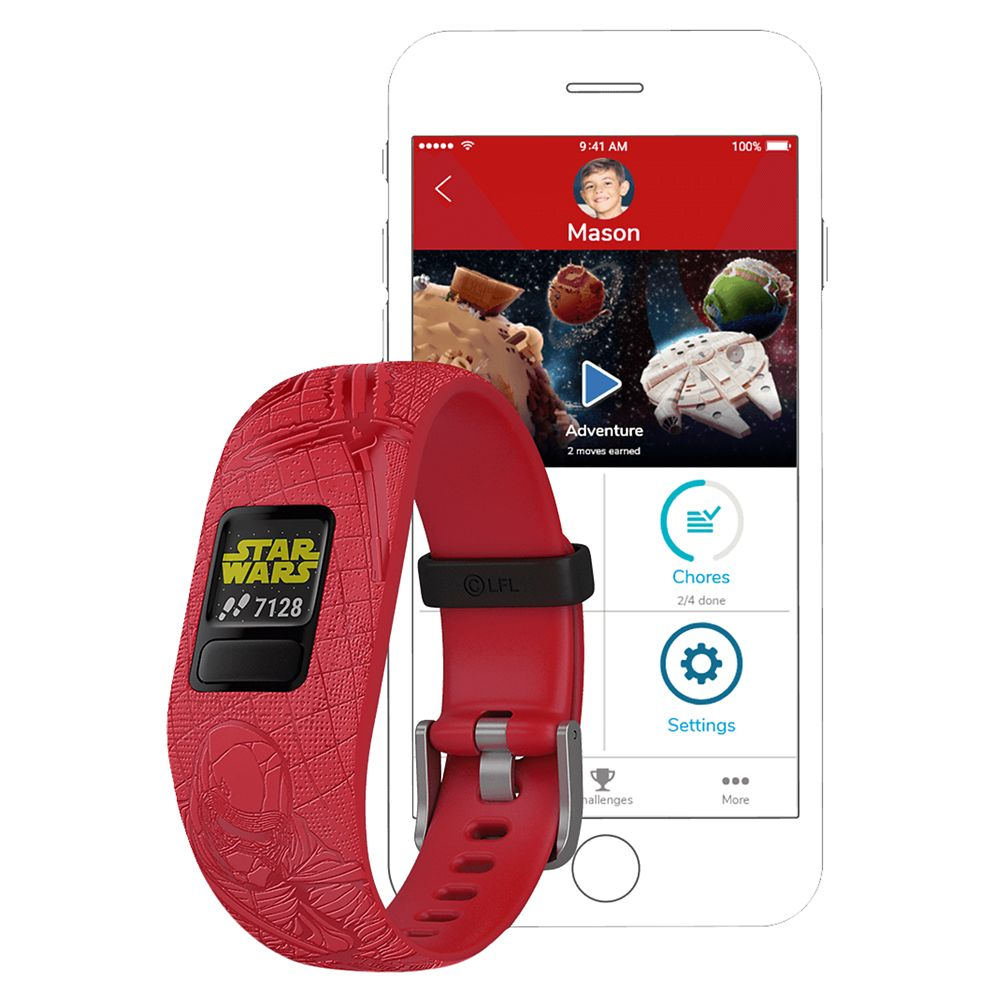 Dark Side vivofit jr. 2 Activity Tracker for Kids by Garmin – Star Wars