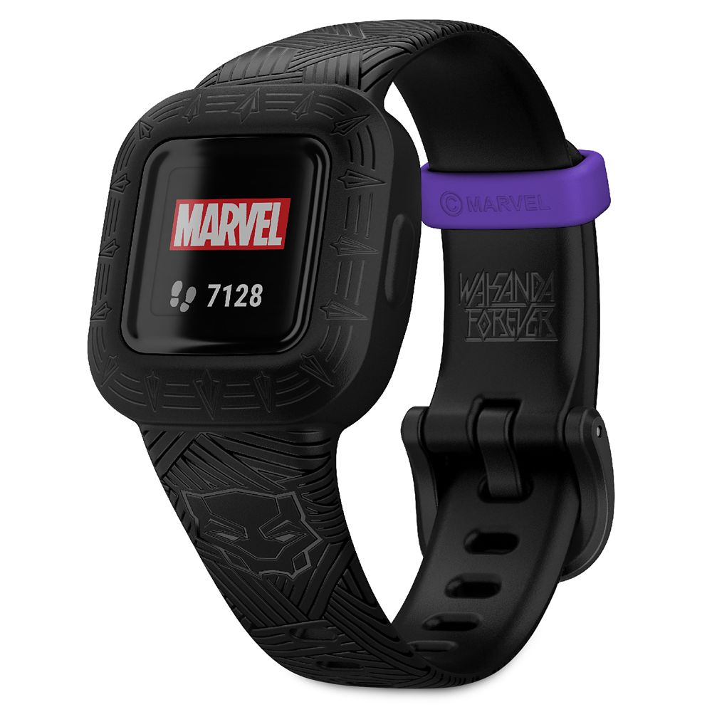 Black Panther vivofit jr. 3 Fitness Tracker for Kids by Garmin