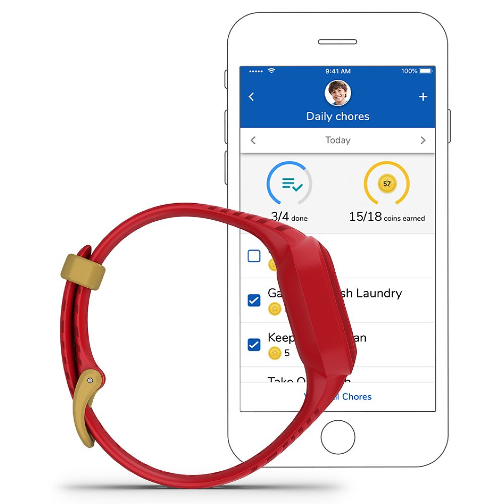 Iron Man vivofit jr. 3 Fitness Tracker for Kids by Garmin