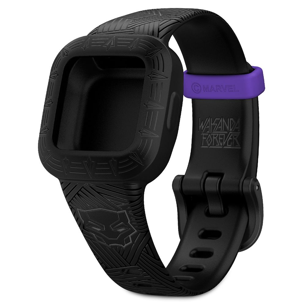 Black Panther vívofit jr. 3 Accessory Band by Garmin