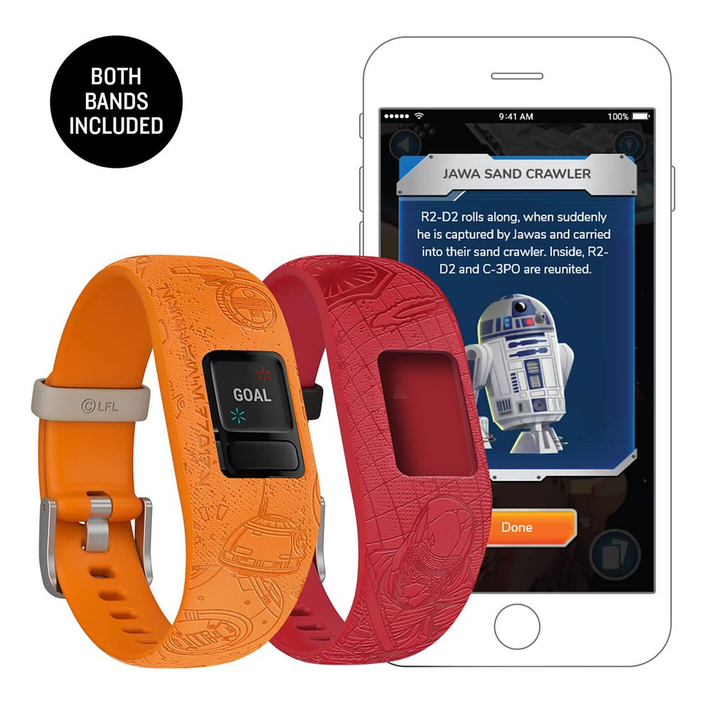 Star Wars vivofit jr. 2 Activity Tracker Set for Kids by Garmin