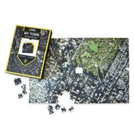 National Geographic My Town Personalized Puzzle – Map Scale: 1:5,000