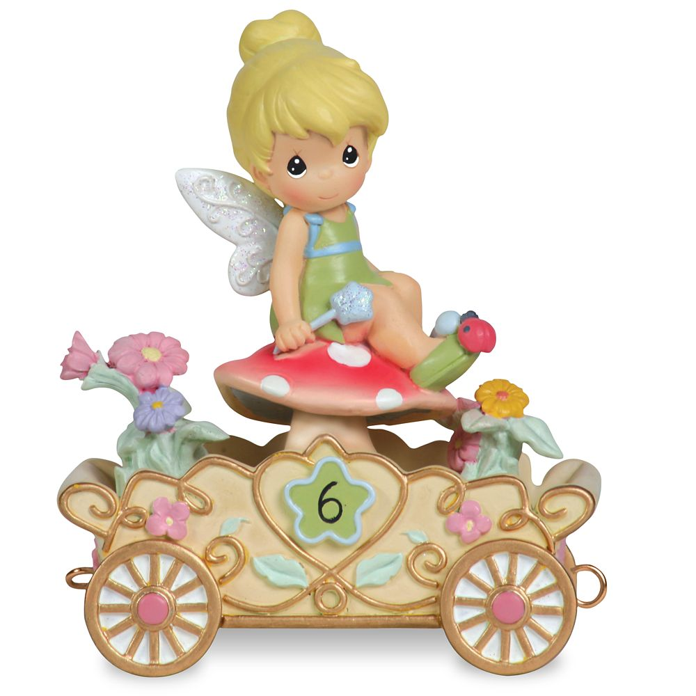 Tinker Bell ''Have a Fairy Happy Birthday'' Sixth Birthday Figurine by Precious Moments Official shopDisney