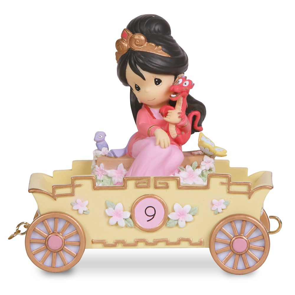 ''Nine is Divine'' Birthday Mulan Figurine by Precious Moments Official shopDisney