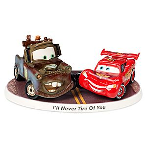 Lightning McQueen and Tow Mater Figure by Precious Moments