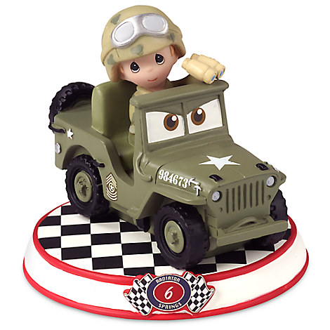 Sarge Figurine by Precious Moments - Cars