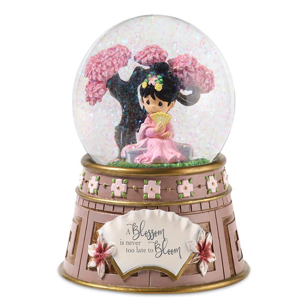 Mulan Musical Snowglobe by Precious Moments Official shopDisney
