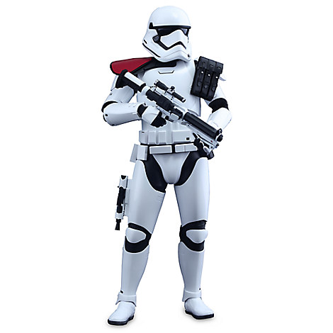First Order Stormtrooper Officer Sixth Scale Figure by Hot Toys - Star Wars
