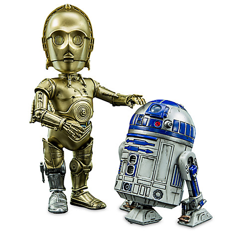 C-3PO and R2-D2 Hybrid Metal Figuration Set by Sideshow Collectibles  - Star Wars