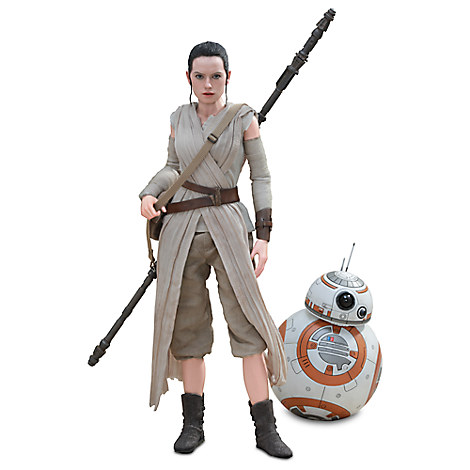 Rey and BB-8 Sixth Scale Figure Set by Hot Toys - Star Wars
