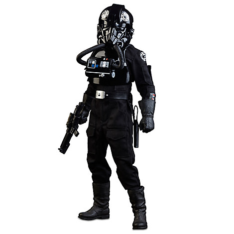 Imperial TIE Fighter Pilot Sixth Scale Figure by Sideshow Collectibles - Star Wars