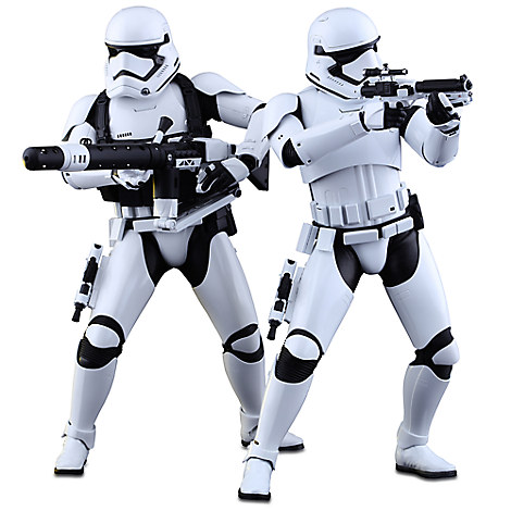 First Order Stormtrooper Sixth Scale Figure Set by Hot Toys - Star Wars