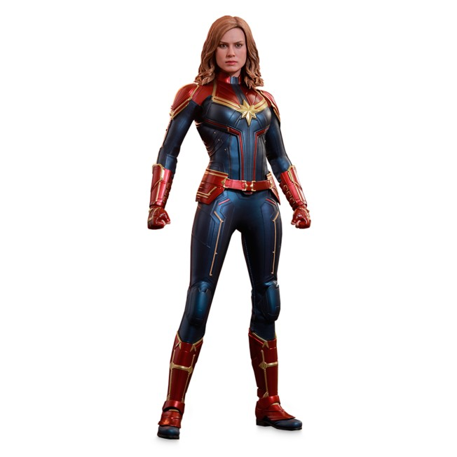 Captain Marvel Sixth Scale Collectible Figure by Hot Toys