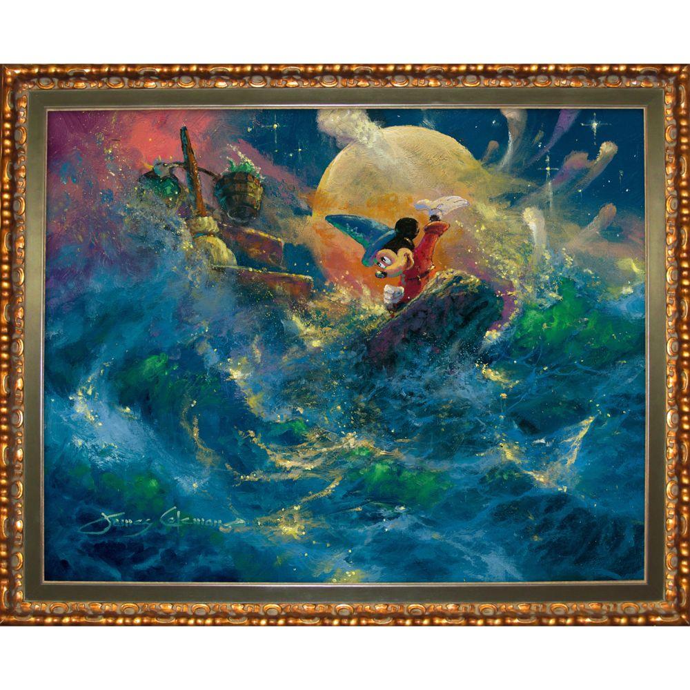 Mickey Mouse ''Sorcerer Symphony'' Giclée by James Coleman