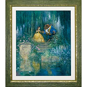 Beauty and the Beast ''For the Love of Beauty'' Giclée