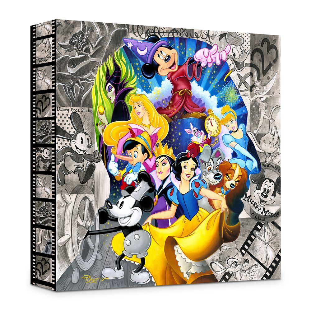 ''A Colorful Mind'' Giclée on Canvas by Tim Rogerson Official shopDisney