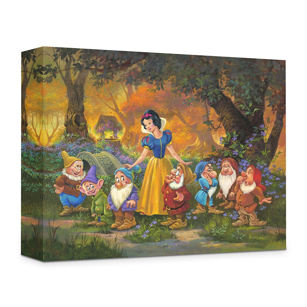 ''Among Friends'' Giclée on Canvas by Michael Humphries Official shopDisney