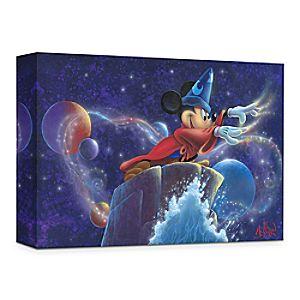 """Mickey's Magic"" Giclée on Canvas by James C. Mulligan"