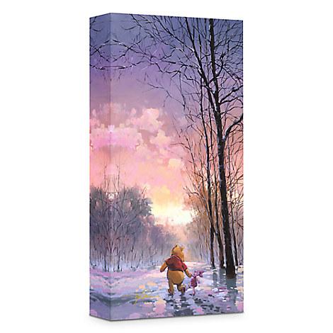 ''Snowy Path'' Giclée on Canvas by Rodel Gonzalez