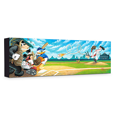 ''Swing for the Fences'' Giclée on Canvas by Tim Rogerson