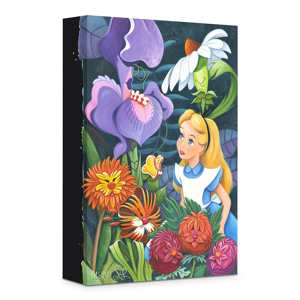 ''A Conversation with Flowers'' Giclée on Canvas by Michelle St.Laurent Official shopDisney