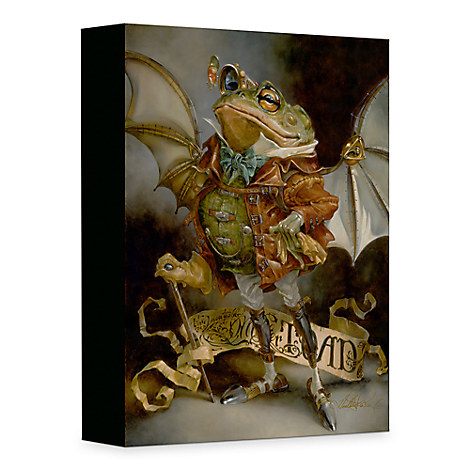 ''The Insatiable Mr. Toad'' Giclée on Canvas by Heather Theurer