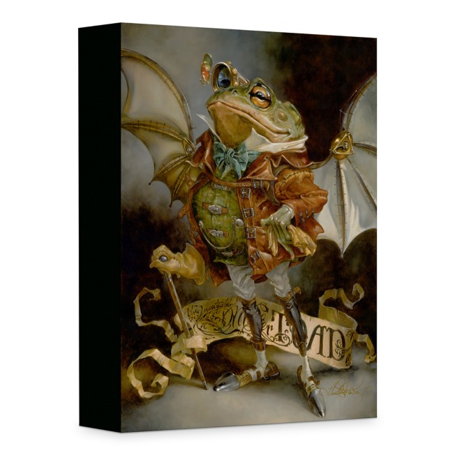 ''The Insatiable Mr. Toad'' Giclée on Canvas by Heather Edwards