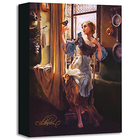 ''Cinderella's New Day'' Giclée on Canvas by Heather Theurer