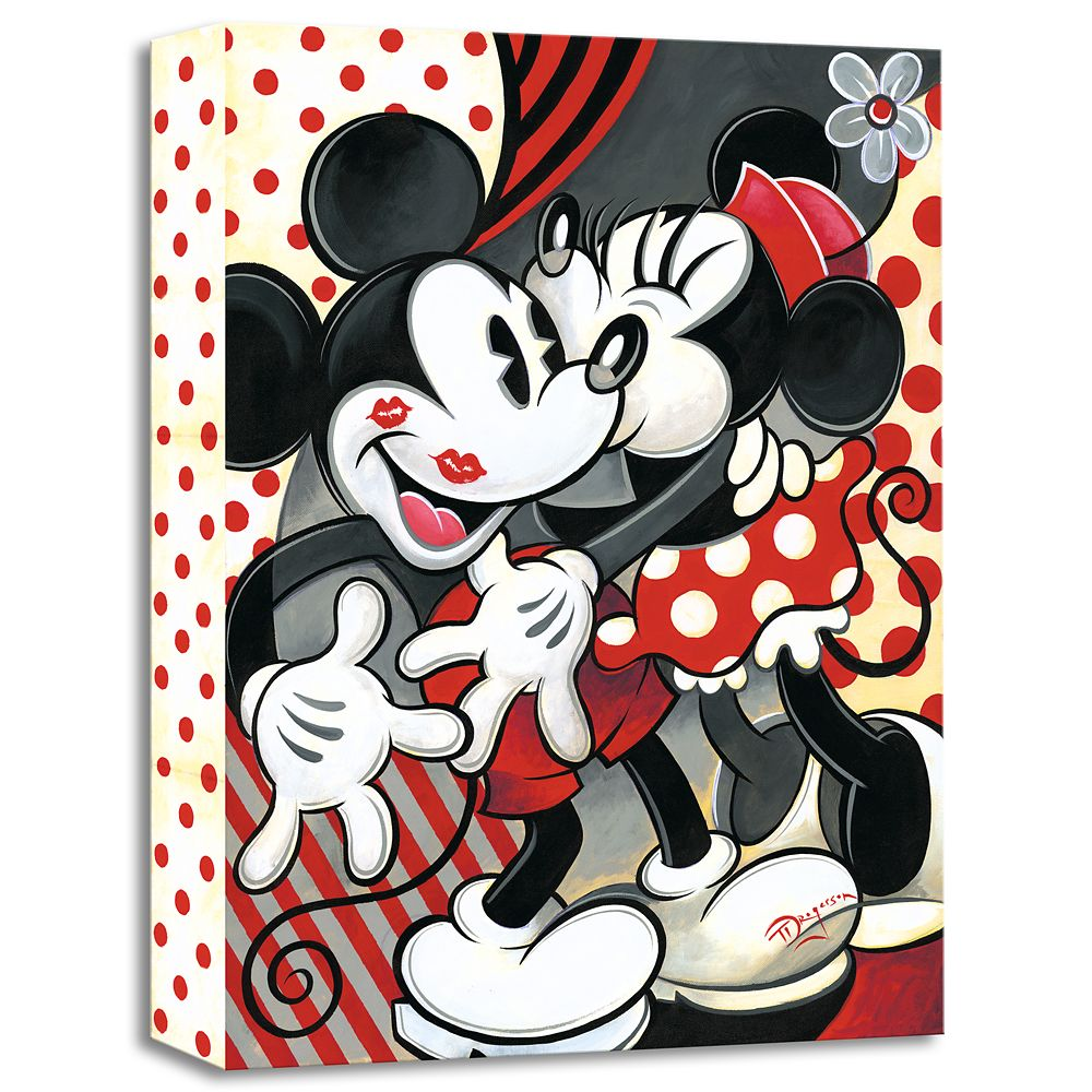 Hugs And Kisses Giclée On Canvas By Tim Rogerson Shopdisney