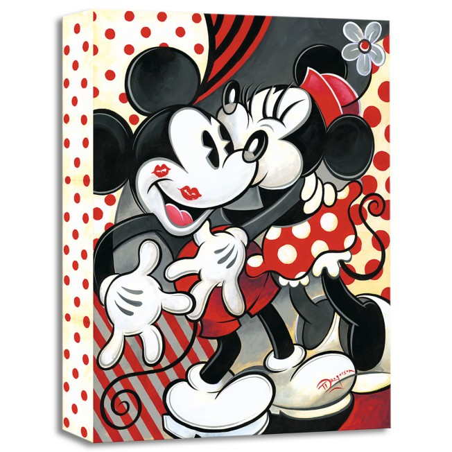 ''Hugs and Kisses'' Giclée on Canvas by Tim Rogerson