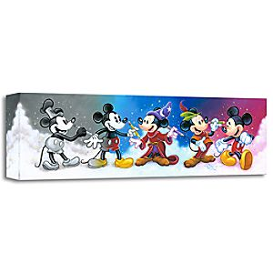 """Mickey's Creative Journey"" Giclée on Canvas by Tim Rogerson"