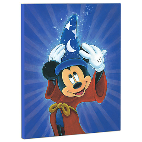 Mickey Mouse ''Magic Is In The Air'' Giclée on Canvas