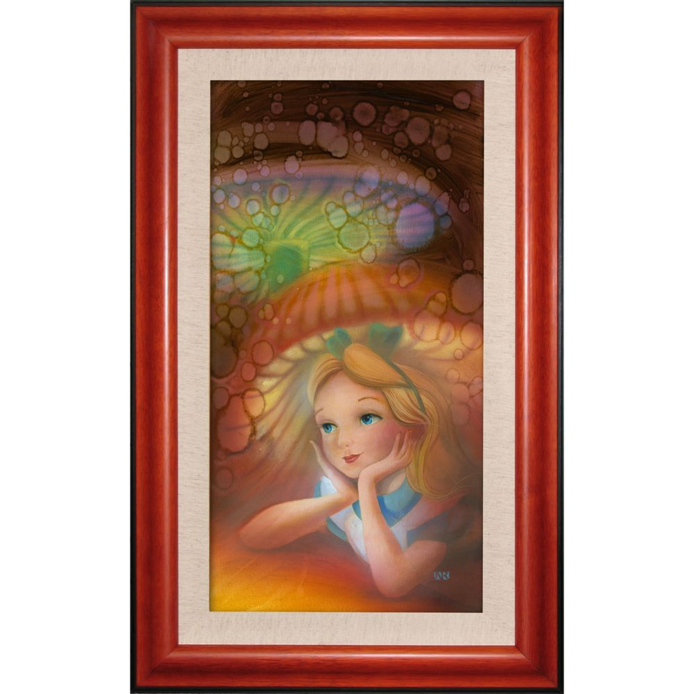 Alice in Wonderland ''Wondering'' Giclée by John Rowe Official shopDisney