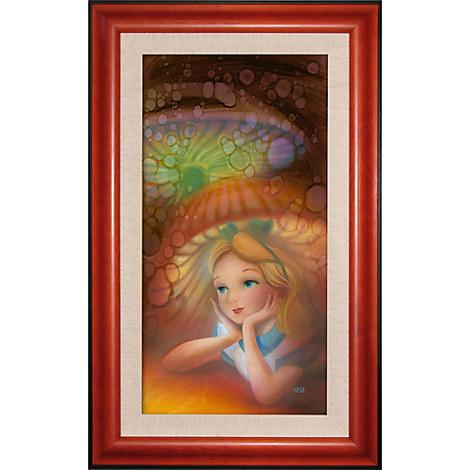 Alice in Wonderland ''Wondering'' Giclée by John Rowe
