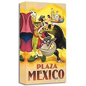 """Goofy's Plaza Mexico"" Giclée by Tim Rogerson"