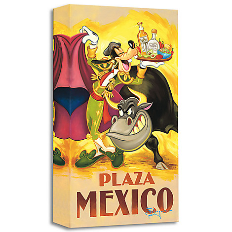 ''Goofy's Plaza Mexico'' Giclée by Tim Rogerson